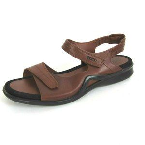 ECCO Brown Leather Sandals Near New 42 11 11.5
